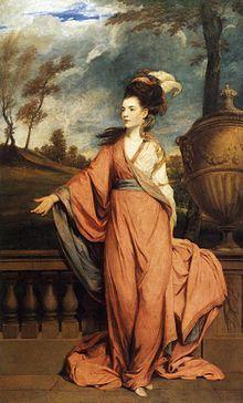 Retrato de Jane, condessa de Harrington, 1778. Joshua Reynolds.