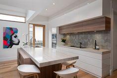 29 veces he visto estas bellas cocinas modernas. Kitchen Sets, Living Room Kitchen, New Kitchen, Kitchen Decor, Kitchen Display, Modern Kitchen Design, Interior Design Kitchen, Luxury Kitchens, Home Kitchens