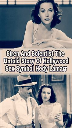 "Hedy Lamarr was known in Hollywood as ""the most beautiful woman in the world,"" and she also invented the technology that ultimately led to Social media Hollywood Actor, Golden Age Of Hollywood, Funny Facts, Weird Facts, Hedy Lamarr, Funny Pins, Funny Stuff, Silent Film Stars, Actor John"