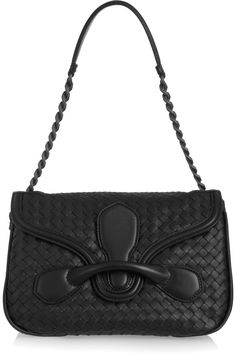 Bottega Veneta | Rialto medium intrecciato leather shoulder bag | NET-A-PORTER.COM