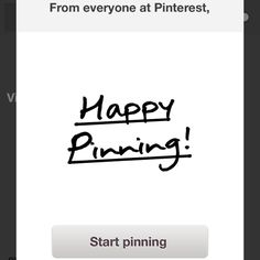 Pinterest for iPhone, SUPER WELL DONE!