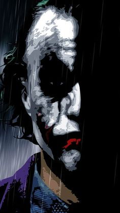Why so serious. The Joker/Heath Le Joker Batman, Heath Ledger Joker, Joker Art, Joker And Harley Quinn, Batman Wallpaper, Wallpaper Animé, Superhero Wallpaper Iphone, Apple Wallpaper, Joker Images