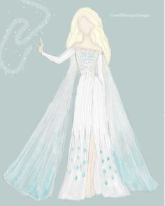 This item is unavailable Frozen Wedding Dress, Frozen 2 Elsa Dress, 2nd Wedding Dresses, Princess Elsa Dress, Selena Costume, Elsa Outfit, Disney Princess Fashion, Elsa Cosplay, Frozen Costume