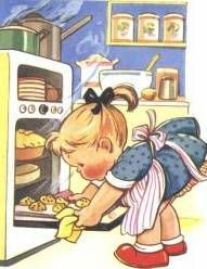 Isn't it funny how different this image would be if she was an adult woman doing the exact same thing?