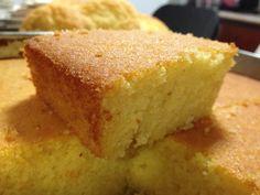 "Colombian corn bread ""Mantecada"""