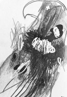 Deny pribadi - Eagle's beak, pencil on paper