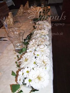 Main table centerpiece for your #winter#wedding#in# Slovakia
