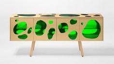 Irmãos Campana criam gabinete inspirado em aquário