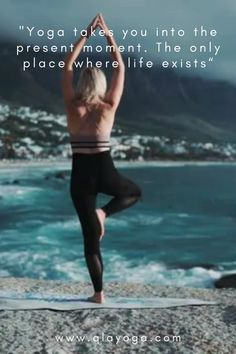 """""""Yoga takes you tinto the present moment. The only place where life exists"""" Wonder Quotes, Yoga Quotes, Awakening, Presents, Mindfulness, In This Moment, Places, Life, Gifts"""