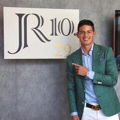 James Rodriguez Colombia, James Rodrigues, Real Madrid Bayern Munich, Everton, Mens Fashion, Blazer, Jackets, Tops, Beauty