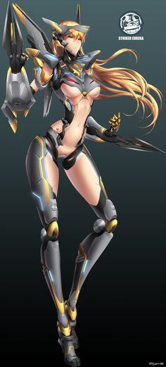 Pacific Rim Jaegirl Striker Eureka by JaegirlsDeviant438