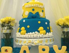 """Rubber Duckies / Baby Shower """"Sebastian Ducky Baby Shower """" 