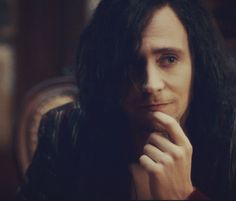 "Tom Hiddleston as Adan in 'Only Lovers Left Alive"". Beautiful movie!"