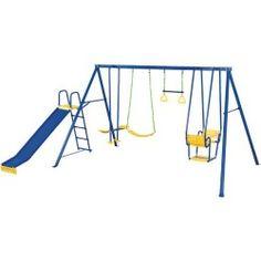 Action Sports 4 Unit Slide Toddler Swing 450