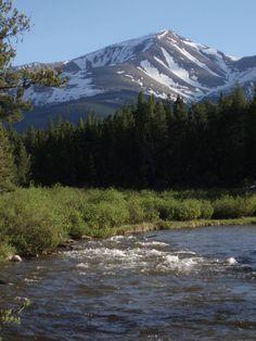 Mt. Elbert in Lake County, Colorado Highest Mountain in Colorado