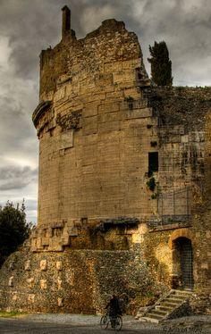 Tomb of Cecilia . Lazio Italy