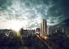 3XN recently celebrated the unveiling and groundbreaking for a mixed-use and residential tower complex called Grove Towers. As the Danish firm's first project in Mumbai, project developer