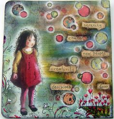 Art journal page  #artjournal