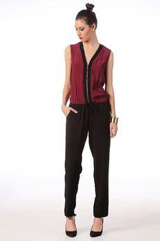 Combinaison pantalon bicolore Siam