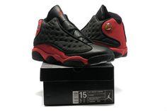 1e9d2df3ce85 Retro Nike Jordan 13 Black/Red Big Size Sneakers Release (Detailed Look)  Nike
