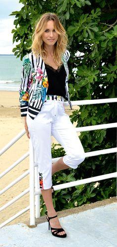 Pause Café, Pret A Porter Feminin, Catalogue, White Jeans, Pants, Fashion, Spring Summer, Ongles, Womens Fashion