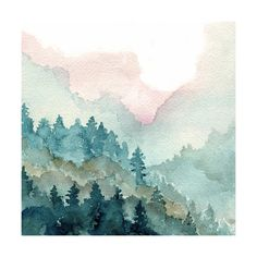 """""""Cascade Mist"""" - Art Print by Me Amelia in beautiful frame options and a variety of sizes."""
