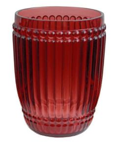 Le Cadeaux Milano Tumbler - Berry Red