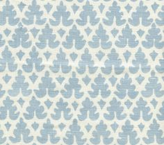 Quadrille Volpi Fabric in Soft Windsor Blue on Tint (304040B-03). We sell the full line of Quadrille, China Seas, Alan Campbell and Cloth and Paper fabric and wallpaper in our shop. Guaranteed first quality and $10 loan samples offered.