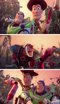 'Toy Story That Time Forgot' First Television Premiere Commercial  http://www.pixarpost.com/2014/10/ToyStoryThatTimeForgotCommercial.html