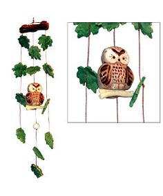 ceramic wind chimes