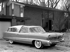 1956 ... station wagon of the future! Plymouth 'plainsman' concept car