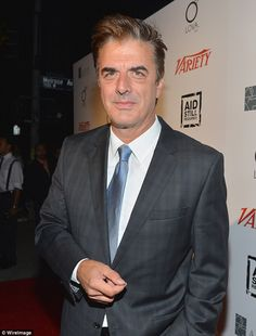 Actor son: Parr's son Chris Noth, now 61, rose to fame as Mr Big on Sex And The City...