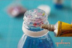 【暮らし】病気で動けない子どもも楽しめる、手作りおもちゃ「キラキラボトル」 - 家電 Watch Light Bulb, Perfume Bottles, Soap, Home Decor, Bulb Lights, Homemade Home Decor, Lightbulbs, Perfume Bottle, Interior Design