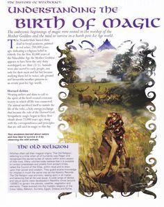 Understanding the Birth of Magick