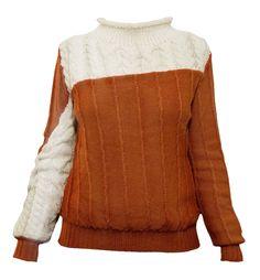 Merino/Baby alpaca sweater #knitwear #style #trend #albaknitwear
