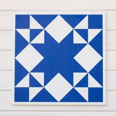 Modern barn quilts for sale in a variety of colors and styles. Find your beautiful ready-made barn block printed on sturdy material for indoor or outdoor use. Barn Quilt Designs, Barn Quilt Patterns, Pattern Blocks, Quilting Designs, Paper Patterns, Star Quilts, Quilt Blocks, Star Blocks, Scrappy Quilts