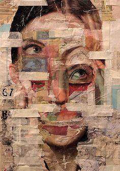 collage by rael brian 2013 Collage Kunst, Collage Art, Collages, Collage Portrait, Love Collage, Aesthetic Pastel Wallpaper, Aesthetic Wallpapers, Artistic Wallpaper, Art Du Monde