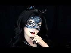 Catwoman Inspired Makeup Tutorial - YouTube