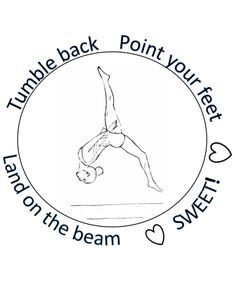Free Printable Gymnastics Coloring Pages For Kids | Coloring Pages ...