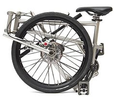 """Helix Folding Bike claims to be the worlds lightest at 9.5kg and worlds smallest. Bear in mind that's for having 24"""" wheels. On Kickstarter June 2015, so we'll see if this materializes."""