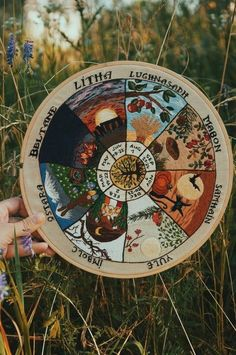 magiC✨❄️ Wheel of the year Pagan wall decor Hand embroidery hoop Unique Celtic gift Tools Every Do-I Tarot, Wiccan, Witchcraft, Celtic Paganism, Magick Book, Pagan Decor, Eclectic Witch, Baby Witch, Modern Witch