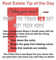Real Estate Tip of the Day Nov 27, 2013