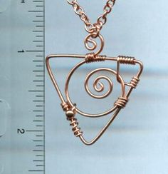Copper Wire Jewelry | Copper wire necklace 740