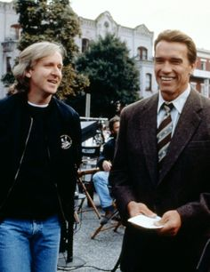 Keanu Reeves And Anthony Kiedis On The Set Of Point Break