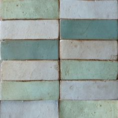 chalky blues and greens color palette