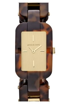 Michael Kors 'Brit' Square Bracelet Watch. Speaking of 'Brit,' who's ready for the #Olympics in London?