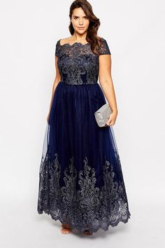 Kleid von Chi Chi London Plus - die schönsten Abiballkleider - jetzt auf gofeminin.de