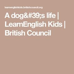 Do you want to practise using countable and uncountable nouns in English? Play our grammar games and have fun while you learn. Uncountable Nouns, Grammar Games, British Council, Dog Life, Short Stories, Have Fun, Dogs, Reading, Pet Dogs