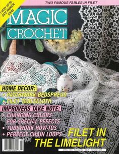 Magic Crochet Nº 83 (1993) - Nadia Petrowa - Álbuns da web do Picasa...FREE MAGAZINE!