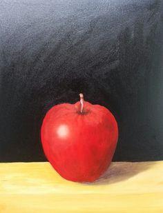 사과 정물화 모작